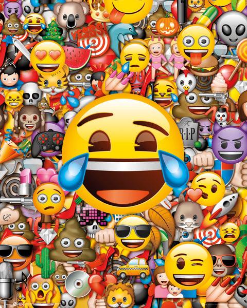 Juliste  Emoji - Collage