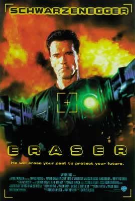 Juliste Eraser: suojelija - Arnold Schwarzenegger, Vanessa Williams