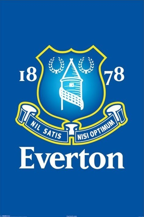 Juliste Everton - crest