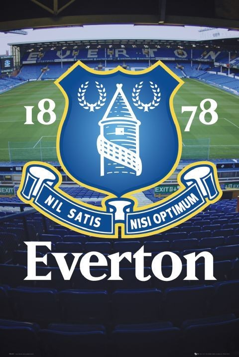 Juliste Everton - goodison crest