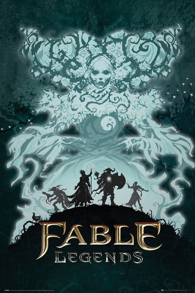Juliste Fable Legends - White Lady