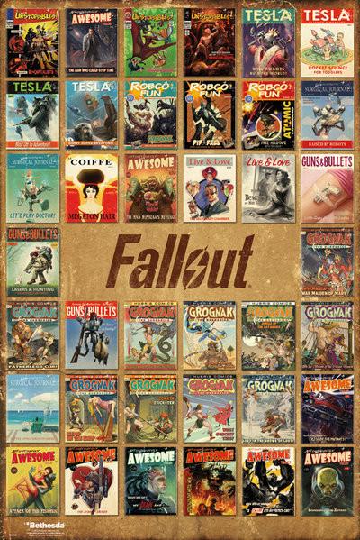Juliste Fallout 4 - Magazine Compilation