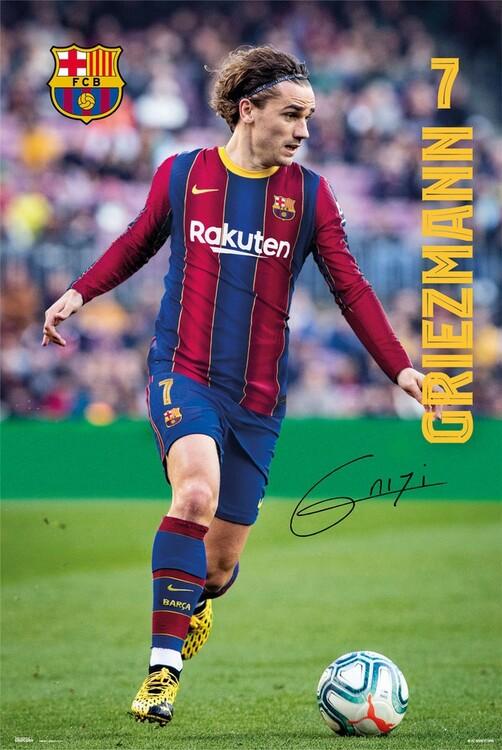Juliste FC Barcelona - Griezmann 2020/2021