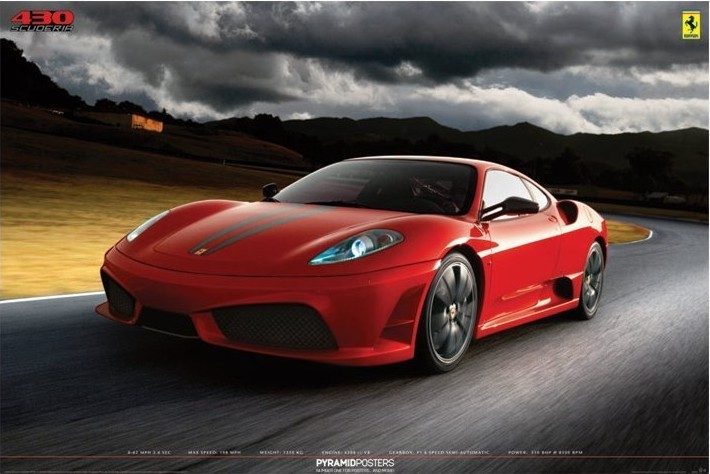 Juliste Ferrari - 430 scuderia