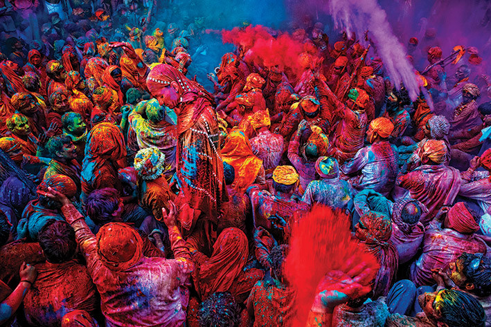 Juliste  Festival of Colours
