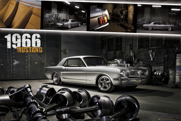 Juliste Ford Mustang - shelby 1966