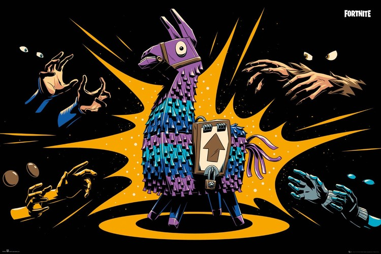 Juliste  Fortnite - Loot Llama