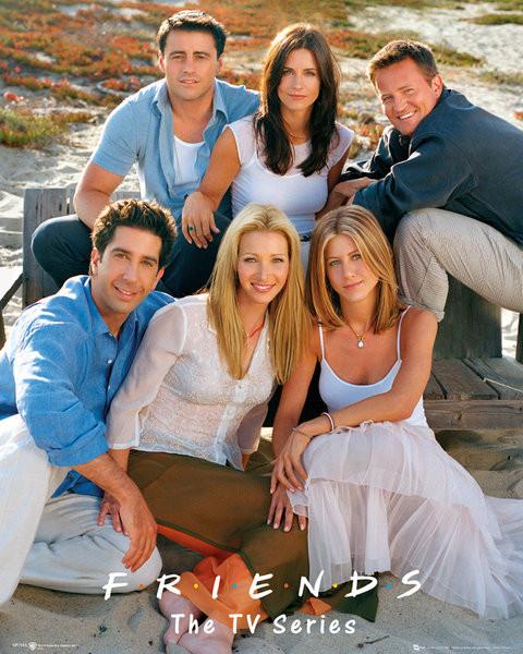 Juliste FRIENDS - cast