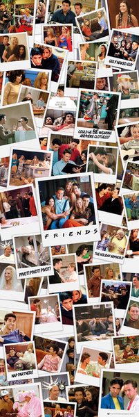 Juliste FRIENDS - polaroids