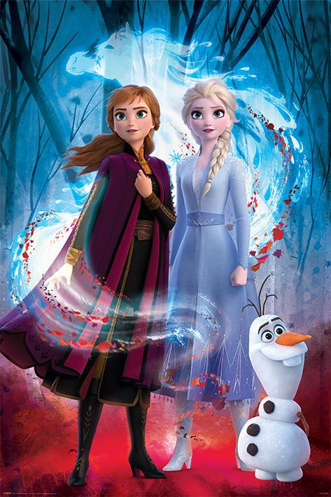 Juliste Frozen: huurteinen seikkailu 2 - Guiding Spirit