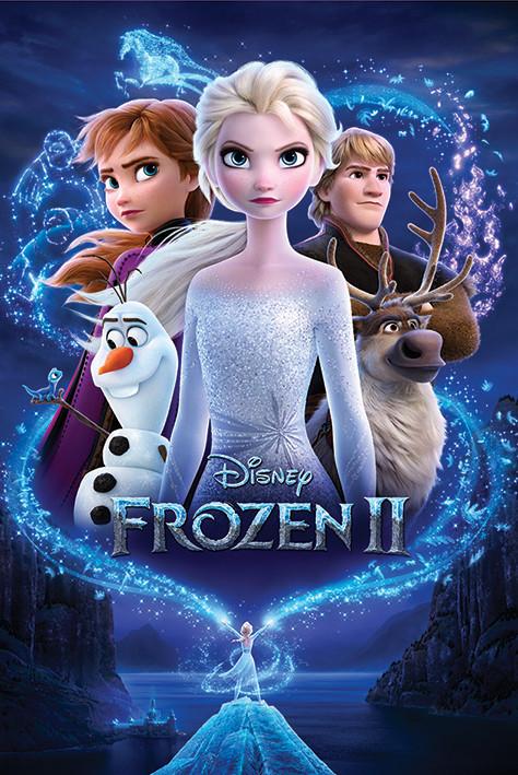 Juliste  Frozen: huurteinen seikkailu 2 - Magic