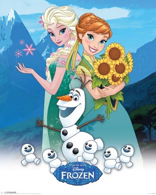 Juliste Frozen: huurteinen seikkailu - Fever