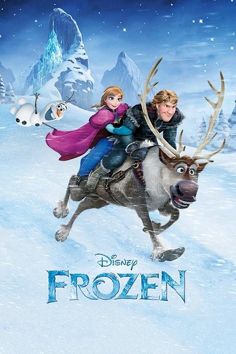 Juliste Frozen: huurteinen seikkailu - Ride