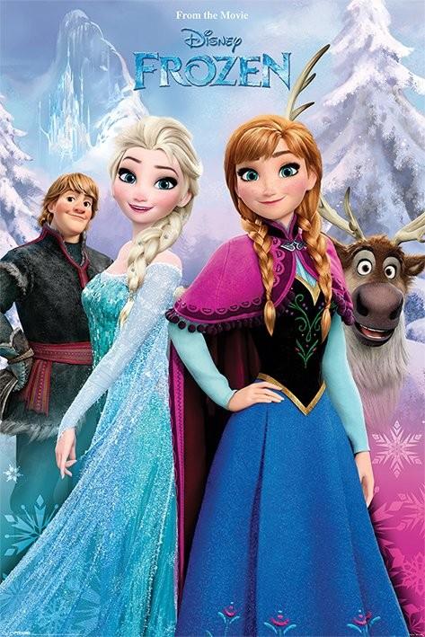 Juliste Frozen: huurteinen seikkailu - Snow Forest