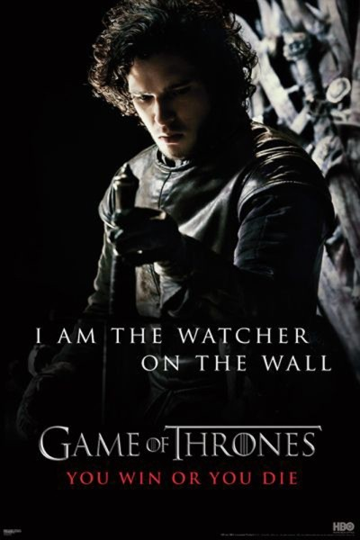 Juliste GAME OF THRONES - I'm the watcher on the wall