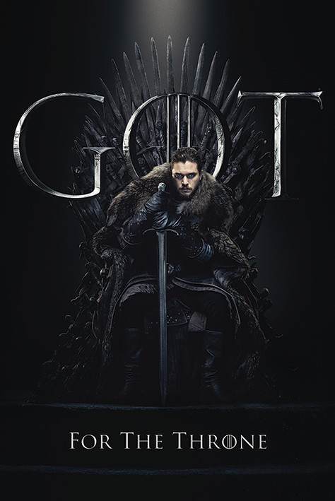 Juliste Game Of Thrones - Jon For The Throne