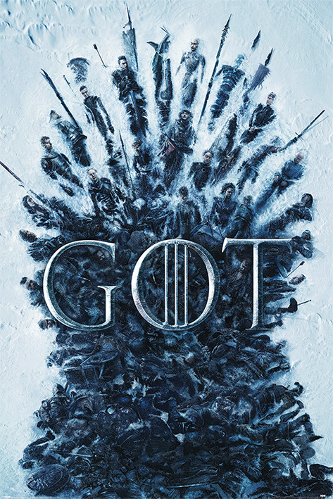 Juliste  Game Of Thrones - Throne Of The Dead