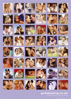Juliste Girls Kissing