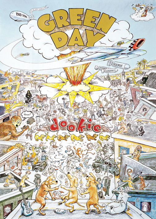Juliste Green Day - dookie