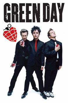 Juliste Green Day - grenades