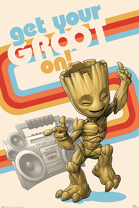 Juliste  Guardians Of The Galaxy - Get Your Groot On