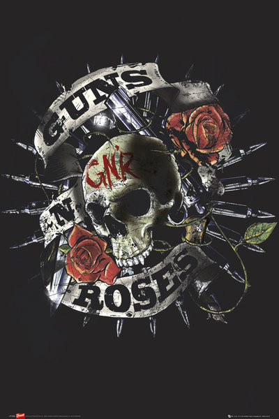Juliste Guns'n'Roses - firepower