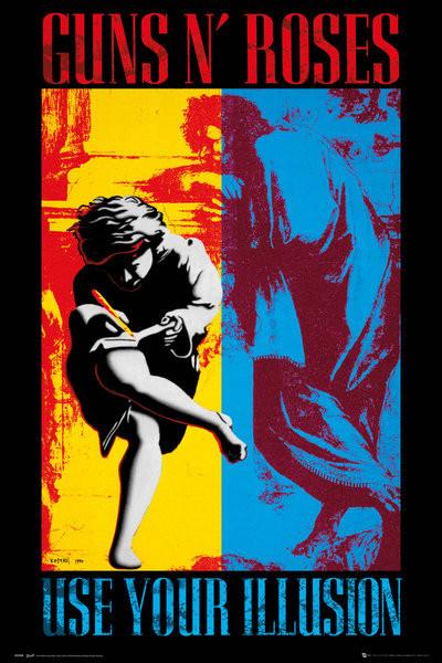 Juliste Guns'N'Roses - Illusion