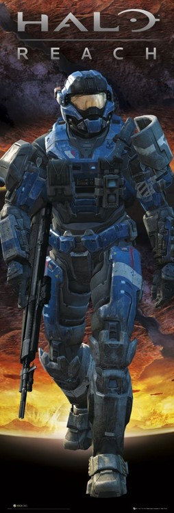 Juliste Halo - reach carter