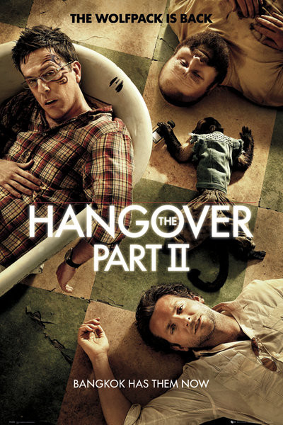 Juliste HANGOVER II - one sheet
