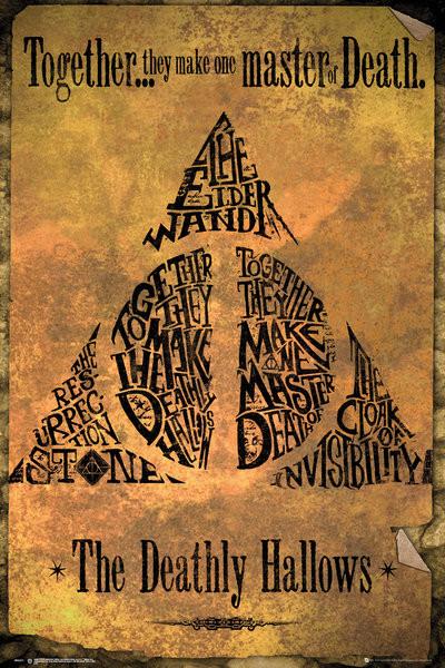 Juliste  Harry Potter - Deathly Hallows