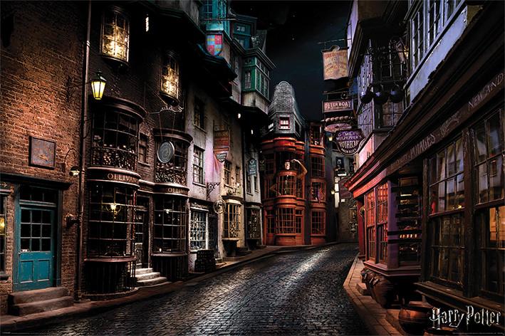 Juliste  Harry Potter - Diagon Alley