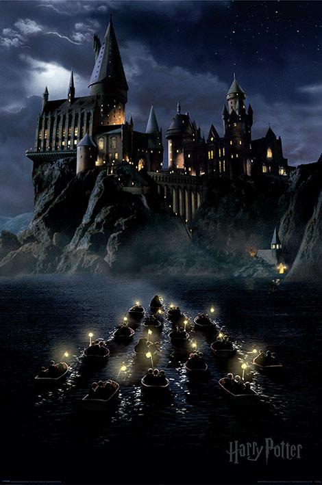 Juliste Harry Potter - Hogwarts Boats
