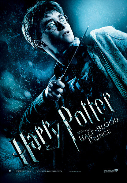 Juliste Harry Potter ja puoliverinen prinssi - Harry with Magic Wand