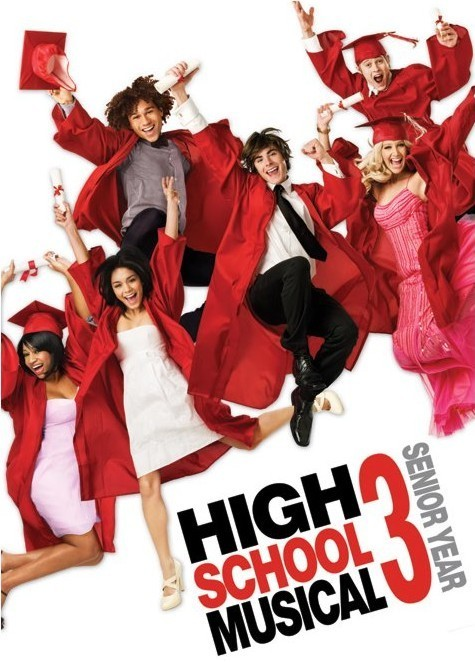 Juliste HIGH SCHOOL MUSICAL 3 - graduation jump