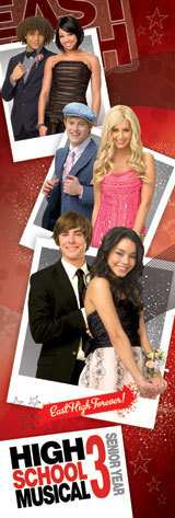 Juliste  HIGH SCHOOL MUSICAL 3 - promo photos