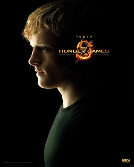 Juliste HUNGER GAMES - Peeta
