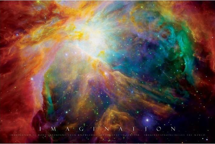Juliste  Imagination - nebula