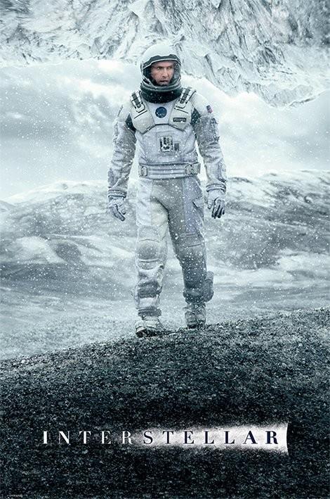 Juliste  Interstellar - Ice Walk