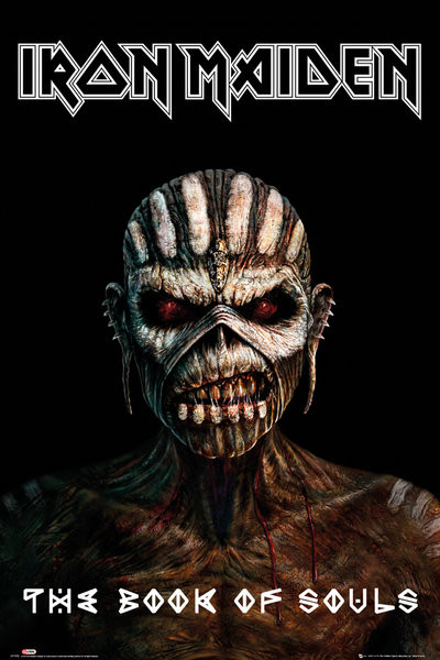 Juliste Iron Maiden - The Book Of Souls