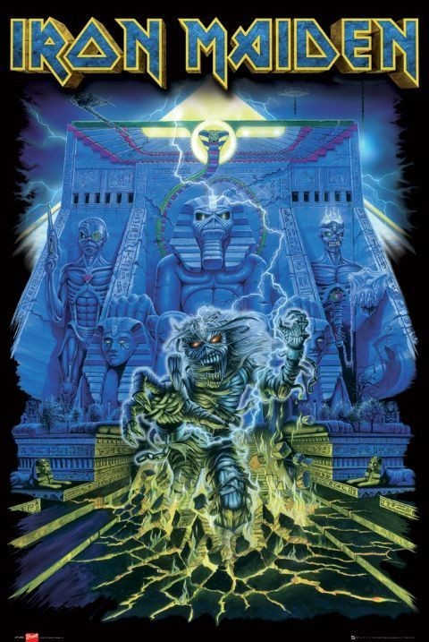 Juliste Iron Maiden - tomb