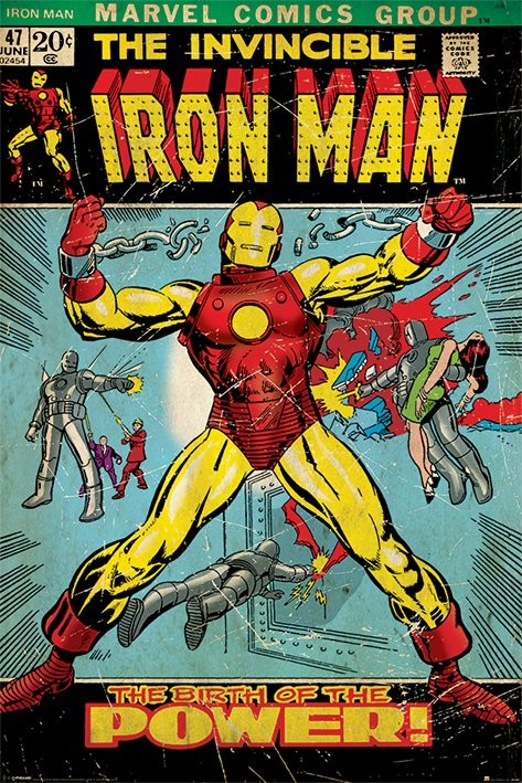 Juliste IRON MAN - birth of power