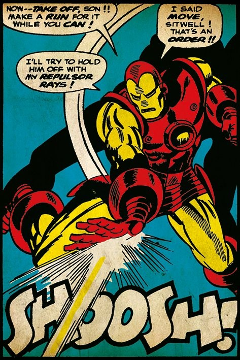Juliste Iron Man - Shoosh