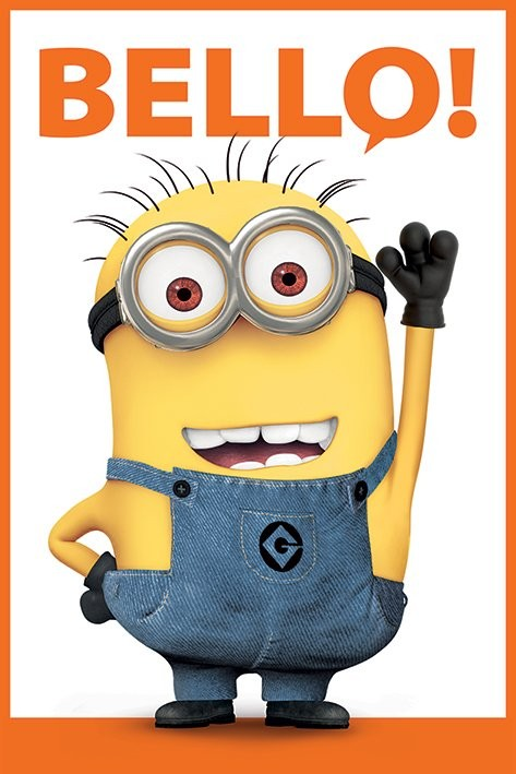 Juliste Itse ilkimys 2 (Despicable Me 2) - Bello