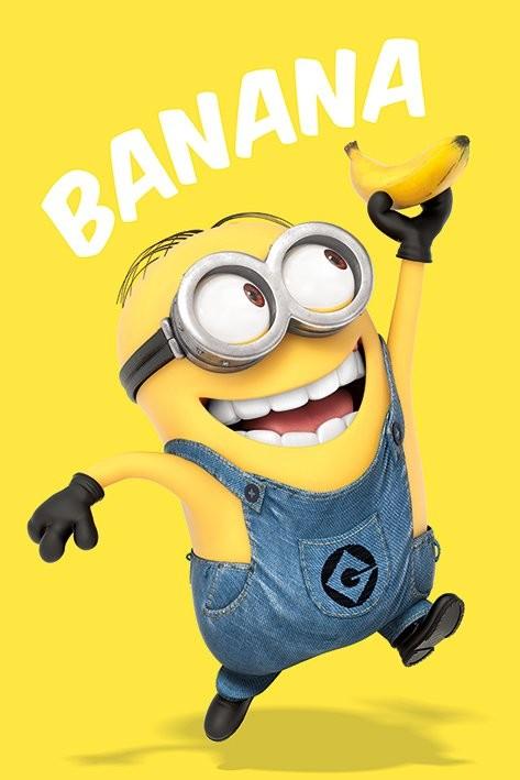 Juliste  Itse ilkimys (Despicable Me) - Banana