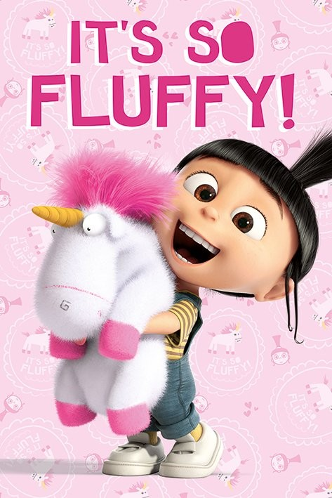 Juliste Itse ilkimys (Despicable Me) - It's So Fluffy