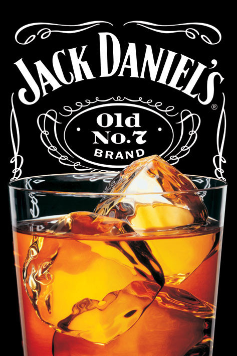 Juliste Jack Daniel's - on the rocks