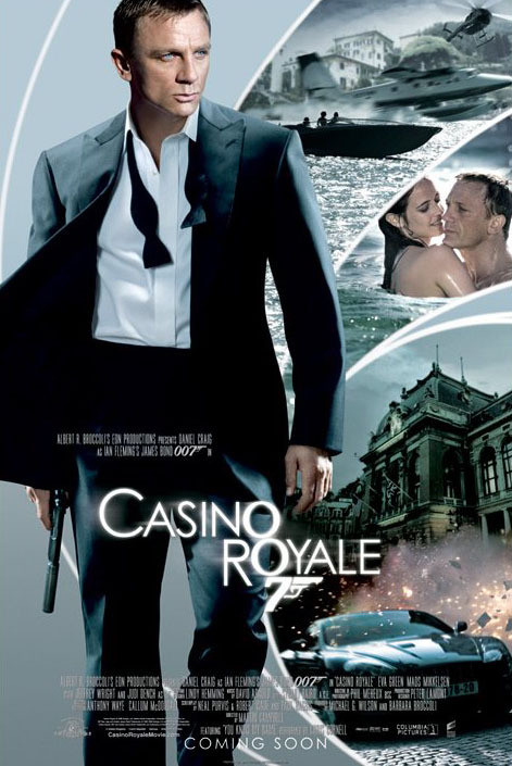Juliste JAMES BOND 007 - casino royale iris one sheet