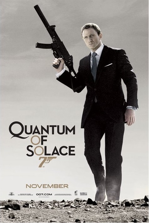 Juliste JAMES BOND 007 - quantum of solace