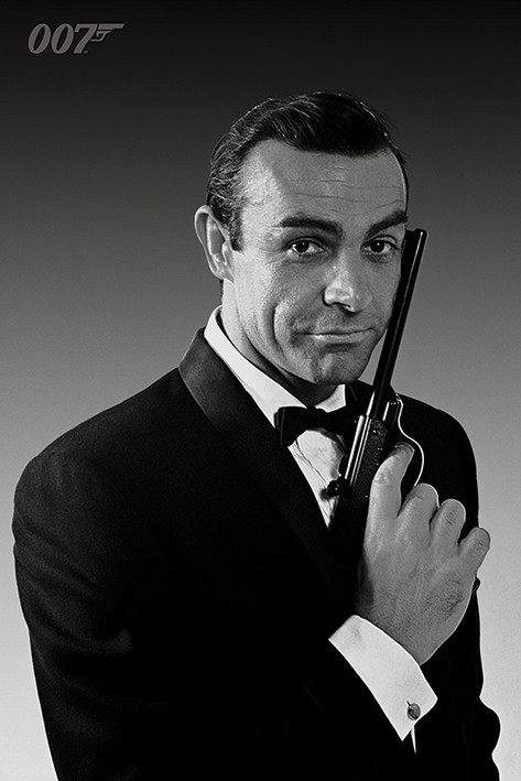 Juliste James Bond 007 - The Name Is Bond (Sean Connery)