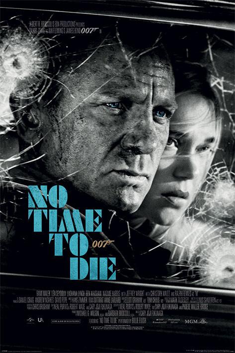 Juliste James Bond - No Time To Die